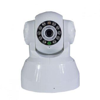 P2P กล้องวงจรปิดไร้สาย iPcamera รุ่น Full HD - สีขาว