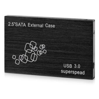 "USB 3.0 Super Speed 2.5"" SATA HDD Enclosure External Case - Black"