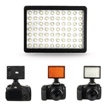 พิกเซล Sonnon DL-911 70 ไฟ led วิดีโอสำหรับ Canon Nikon Olympus Pentax DSLR SLR