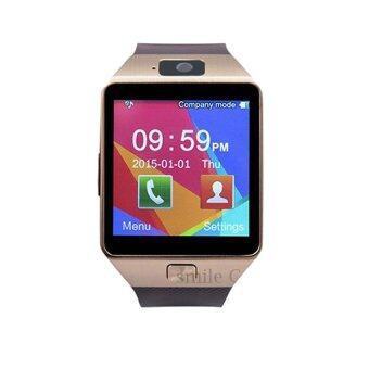 smile C นาฬิกาโทรศัพท์ Smart Watch รุ่น A9 Phone Watch (Gold)