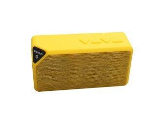 V-TECH ลำโพง Bluetooth Speaker X3 เปลี่ยนถ่านได้ - สีเหลือง
