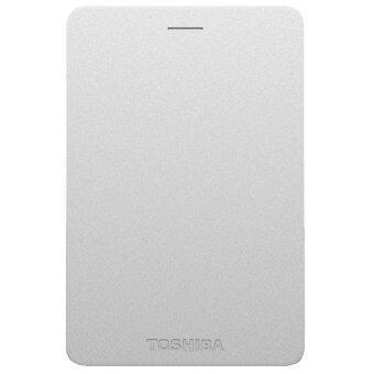 Toshiba Canvio Alumy 2TB External Hard Drive (Silver)
