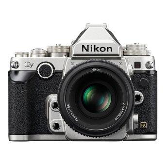 Nikon DF Silver DSLR Full Frame Camera with 50mm 1.8G Lens Kit