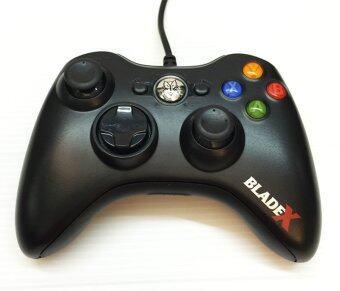 Nubwo BladeX จอยเกมส์ USB NJ-34 (สีดำ)