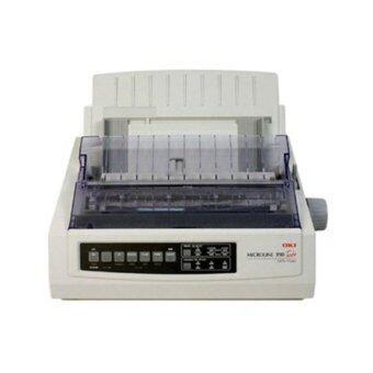 OKI Dot Matrix Printer ML390TPLUS - White