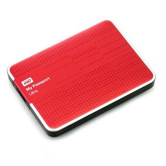 WD My Passport Ultra The Evolution of an Icon External Hard Drive 2TB Red
