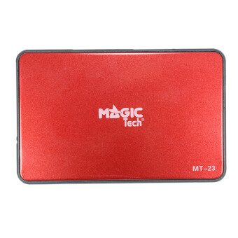 "Took Dee Com Magic Tech USB 3.0 2.5"" SATA External Hard Drive Enclosure (Red)"