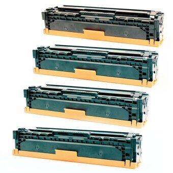 LASUPRINT HP LaserJet CP1215/ CP1515n/ CP1518ni/ CM1312 MFP/ CM1312n MFP/ CM1312nfi ตลับหมึกเลเซอร์ เลซูพริ้นท์ CB540A-CB543A (ชุดประหยัด 1 ชุด 4 สี สุดคุ้ม)