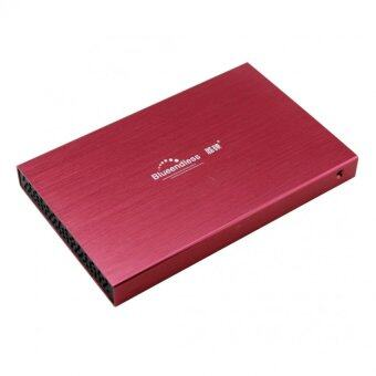 "KS HDD BOX 2.5"" รุ่นLX25 hdd usb2.0 (สีแดง)"