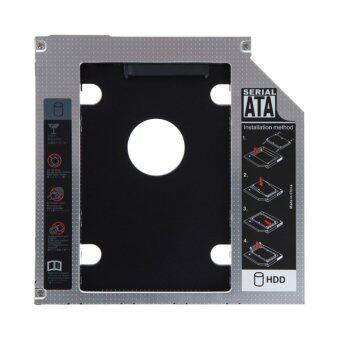 12.7mm SATA HDD SSD Hard Drive Caddy Optical DVD Bay Adapter