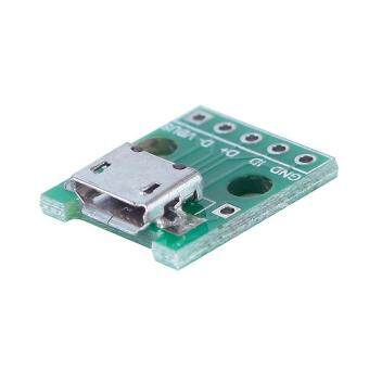 Buyincoins Micro USB To DIP Adapter 5 Pin Female Connector Pcb Converter