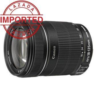 Canon EF-S 18-135mm f/3.5-5.6 f3.5-5.6 IS STM Bulk White Box Lens (Black)