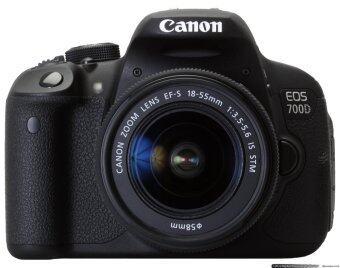 Canon EOS 700D (Kiss X7i / Rebel T5i) Kit 18-55 IS STM - Black