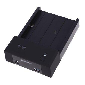 2.5 3.5 Inch SATA HDD Docking Station Enclosure USB 3.0 Interface Black - intl