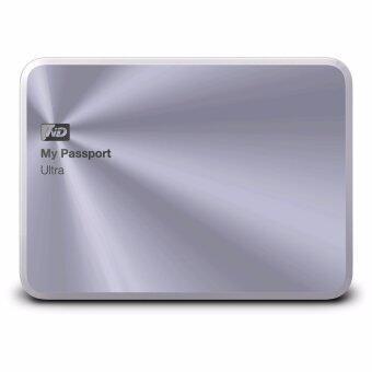 WD MY PASSPORT ULTRA 2TB Metal Edition WDBEZW0020BSL-PESN (Silver)