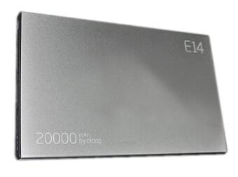 Eloop Power Bank 20,000 mAh รุ่น E14 - Silver