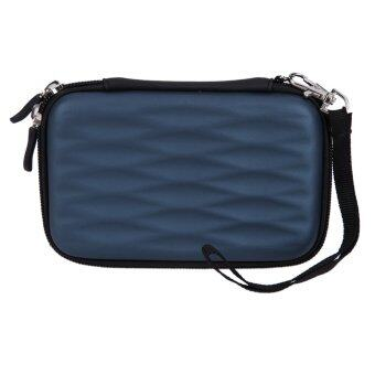 Hard EVA PU Carrying Case Bag for 2.5 inch Portable External Hard Drive - intl