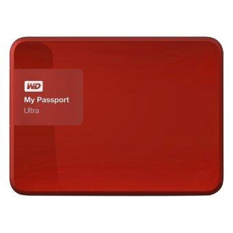 WD NEW My Passport Ultra 1TB (WDBGPU0010BRD) Portable Storage (Festive Red)