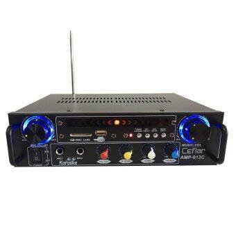 LTM CEFLAR เครื่องขยายเสียง รุ่น AMP-013C (สีดำ)
