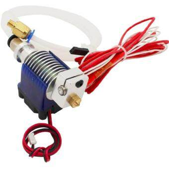 V6 Long Distance J-head Hotend 0.5mm Nozzle for 3mm Wade Extruder with Cooling Fan for Makerbot Reprap 3D Printer - intl