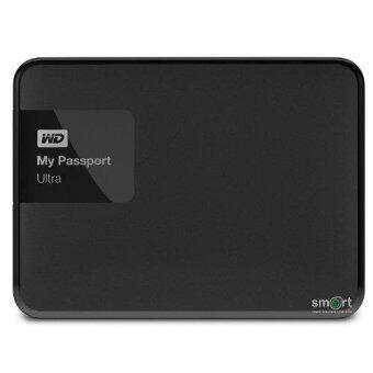 WD NEW My Passport Ultra 500GB (WDBWWM5000ABK) Portable Storage (Black)(500GB)