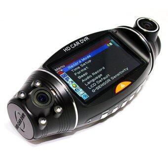 Morestech กล้องติดรถยนต์ 2 เลนส์ รุ่น DVR SC310 (GP400) ตัว TOP มี GPS Logger