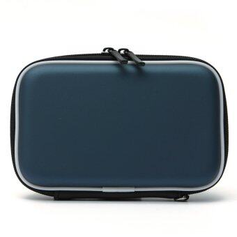 """2.5""""Hard Disk Drive External Cover HDD Protector Hard Drive Pouch Bag Carry Case BLUE"""