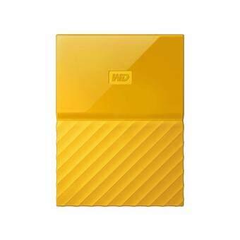 WD HDD - HARD DISK EXTERNAL 2.5 2TB MY PASSPORT 2017 YELLOW (WDBYFT0020BYL)