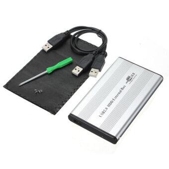 """USB 2.0 2.5"""" IDE Hard Drive Disk HDD External Case Enclosure PC Sliver"""