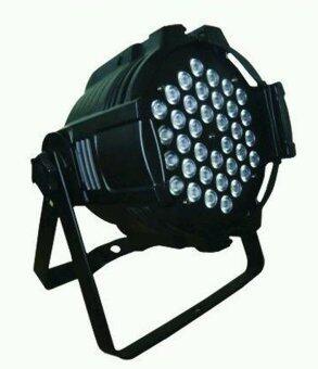NKE ไฟเวที พาร์ LED 3วัตต์ 36ดวง หลอด 4 สี รุ่น LED-336 - สีดำ