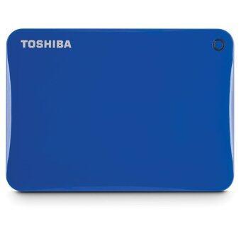 Toshiba Canvio Connect II 1TB External Hard Drive (Blue)