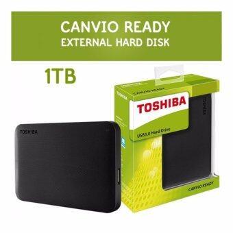 Toshiba Canvio Ready 1 TB. Ext. 2.5'' 'Black' 3.0