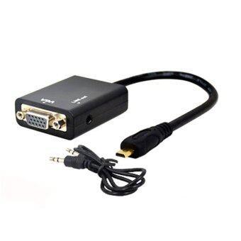 สายแปลงสัญญาณ micro HDMI To VGA