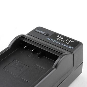แท่นชาร์จรหัส EN-EL15 ENEL15 ที่ชาร์จแบตกล้องนิคคอน Nikon D600, D610, D750, D7000, D7100, D7200, D800, D800E, D810, D810A, Nikon1 V1 ... Replacement Battery Charger for Nikon (image 2)