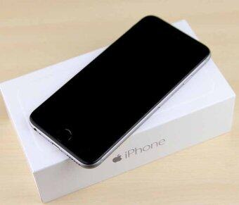 Apple iPhone6PLUS 64GB (BLACK) GPS Mobile iPhone6plus Free Case+ScreenProtector