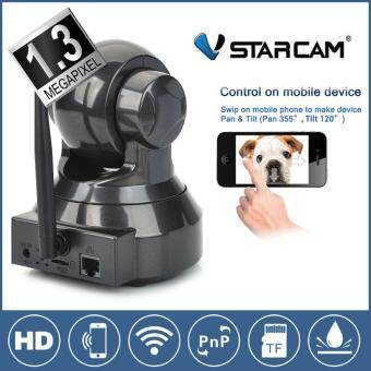 Vstarcam กล้องวงจร ปิด IP Camera รุ่น C7837wip version2 รองรับ 64G 1.0 Mp and IR Cut WIP HD ONVIF(Black)