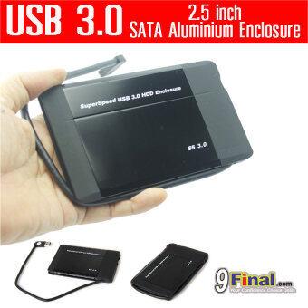 """WLX 288U3v2 by 9final USB 3.0 Superspeed Aluminium HDD Enclosure for 2.5 inch SATA กล่องใส่ harddisk 2.5""""- BLACK"""
