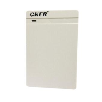 "OKER BOX Hard Drive OKER ST-2568 USB 3.0 2.5"" SATA External Hard Drive Enclosure (White)"