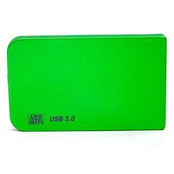 Portable 2.5 Inch SATA USB 3.0 External Mobile Hard Drive Disk Case HDD Enclosure Green - Intl