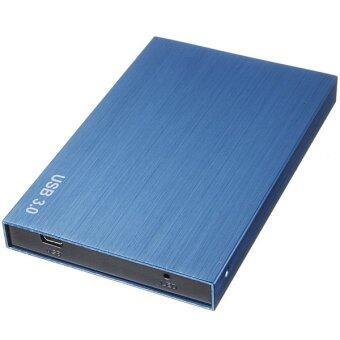 SATA USB 3.0/2.0 SATA 2.5'' HD HDD Hard Disk Drive Enclosure External Case Box Blue - intl