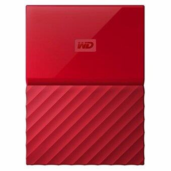 WD HDD - Hard Disk External _2.0 TB MY PASSPORT 2017 RED (WDBYFT0020BRD)