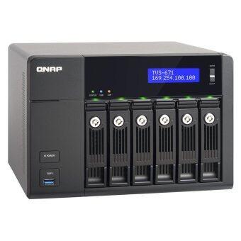 QNAP TVS-671-i3-4G 6-Bay Turbo NAS