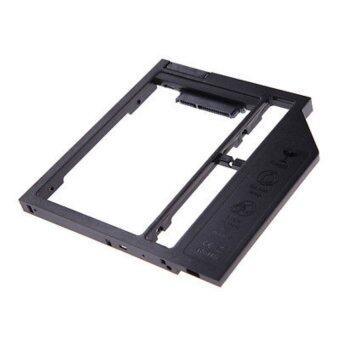 9.5mm Universal SATA 2nd HDD SSD Hard Drive Caddy for CD/DVD-ROM Optical Bay - intl