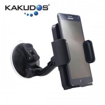 Ozaza ที่วางโทรศัพท์มือถือในรถ KAKUDOS Car Holder for Smartphone K-189 (Black)