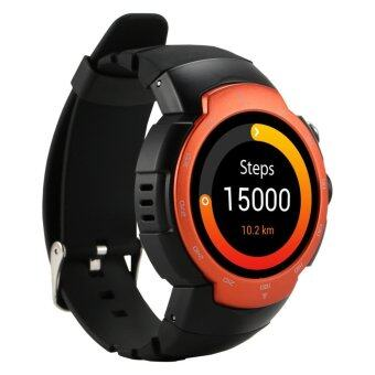 Zeblaze Blitz 3G Smart Watch Phone - Orange + Black - intl