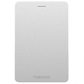 Toshiba Canvio Alumy 1TB External Hard Drive (Silver)