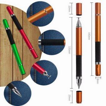 2IN1 Disc Jot Pro Stylus/Ball Pen ปากกาเขียนหน้าจอ พร้อมปากกาลูกลื่น (สีดำ)