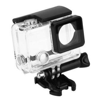 ใต้อาคารครอบกันน้ำป้องกันการดำน้ำเคสสำหรับ GoPro Hero 4