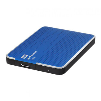 WD My Passport Ultra The Evolution of an Icon External Hard Drive 2TB (Blue)