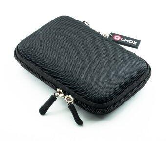 QUMOX 2.5 HDD กระเป๋าไนลอนสำหรับ Hard Disk Drive แบบพกพา (สีดำ)